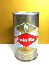 """Grain belt beer metal pull tab can 12 oz. grain belt breweries Minn MN 4.75"""" AS2"""