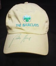 Padraig Harrington Autograph Signed The Barclays Green Sharpie Golf Hat Jsa