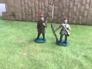2 American Civil War Confederate artillerymen. A call to Arms Imex