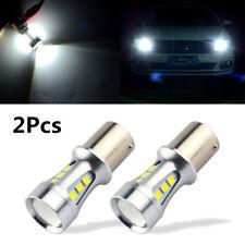 2X 1156 LED BA15S P21W S25 18led 3030 Chips 6000K White DRL Car Brake/Back Light