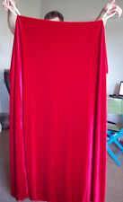 4-Sided Red Velvet Curtain for Magicians & Escape Artist Routines