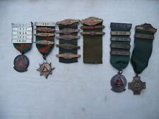 More details for father & son bus drivers rospa safe driving h/m silver & gold medals 1931-76 ww2