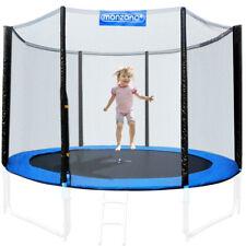 Filet de sécurité pour trampoline 6-8 poteaux - Entrée fermable - Ø 244 - 430cm