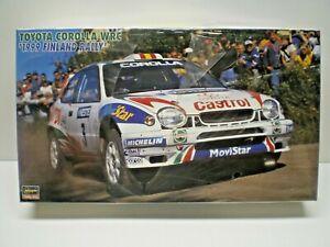 Hasegawa 1/24 Toyota Corolla WRC 1999 Finland Rally Kit # 20206 Factory Sealed