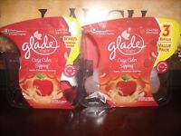 Glade PlugIns Scented Oil refills COZY CIDER SIPPING Apple Cinnamon Nutmeg Scent