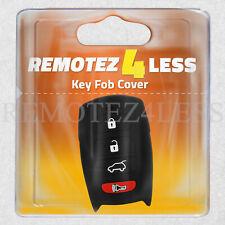 Key Fob Cover For 2006-2013 Hyundai Azera Remote Case Rubber Skin Jacket