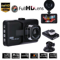 "3.0"" Vehicle HD 1080P Dash Cam Car Dashboard DVR Camera Video Recorder G-Sensor"