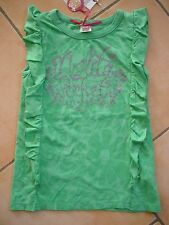 (32) Léger NOLITA POCKET Girls Shirt sans bras avec Logo Pression & Volants gr.116