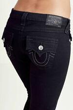True Religion женские обтягивающие черные стрейч джинсы в тело ополаскиватель