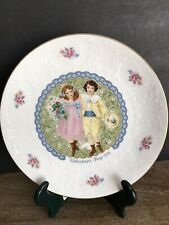 1976 Royal Doulton Vintage St Valentines Day Collectible Plate