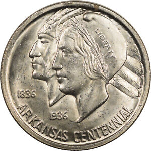 1936 ARKANSAS COMMEMORATIVE HALF DOLLAR