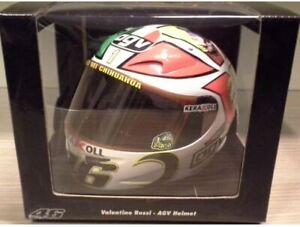 1/2 CASQUE Minichamps - VALENTINO ROSSI 2006 AGV MUGELLO GP BD MANARA #46 ITALIE