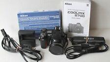 Nikon COOLPIX 8700 8.0MP Digital Camera w/Battery, Charger, Cables, Manual, Card