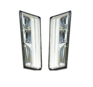 Left & Right Genuine Daytime Run Lights Lamps Pair Set for Caddy XT5 17-18 GM