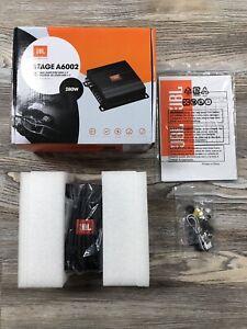 JBL Stage A6002 Amplifier Amp 60W x 2 Black 2 Channel 280W NEW