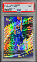 Stephen Curry 2019-20 Select Courtside Silver Prizm RARE SSP PSA 9 POP 1 📈🔥