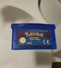 Pokémon: Saphir - Gameboy Advanced (Nintendo)