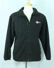 Men's ARCTIC CAT Full Zip Fleece Logo Jacket Size Large Arcticwear Sweatshirt