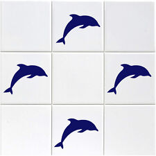 Dolphin Tile Stickers - Pack of 18 Dolphins Tile Stickers