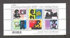 Nederland NVPH 2527 Vel Kinderzegels 2007 Postfris