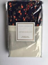 New Antonio Melani Queen Standard pillowcases Liberty Fabric Navy Red 250tc