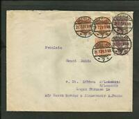 GERMANY 1921, COVER, BRESLAU TO LUBBEN, VERY NICE