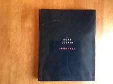 Journals: Kurt Cobain 1st/1st (F/VG) Nirvana Grunge Alternative Seattle Aberdeen
