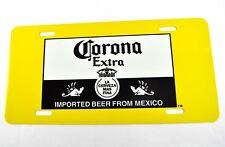 CORONA EXTRA bière voiture des USA PLAQUE D'immatriculation license plate déco