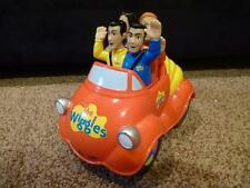 The Wiggles Big Red Car Musical Moving Push Top Toot Original Singing 2003 Works