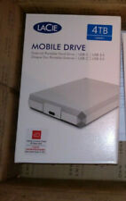 LaCie Mobile Drive USB Type C 4TB Brand New Sealed