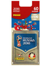 Panini FIFA World Cup Russia 2018 Sammelsticker Blisterpack 12 Booster
