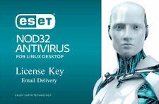 ESET NOD32 Antivirus for Linux Desktop 2020 -1 linux, 6 months (License Key)