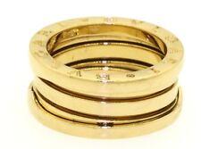 Bvlgari B-Zero heavy 18K yellow gold band ring size 5 Euro size 50