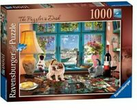 Ravensburger The Puzzlers Desk 1000 Piece Jigsaw Puzzle Brand New and Sealed