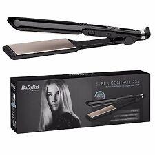 BaByliss 2179U Nano Ceramic 235 Travel Hair Straightener with Heat Mat NEW