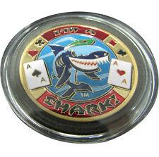 Casino Poker Card Guard Cover Protector I'm a Shark