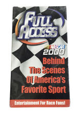 NASCAR Auto Racing Full Access Volume 1 VHS Tape 2000 Sealed