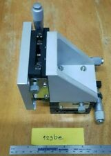 misumi XYPG60-CR XYZ-Axis Linear Manual Stage // watchmaker tool