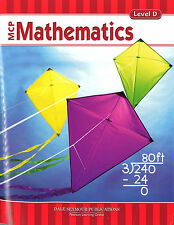 MCP Mathematics - Level D Student Workbook - 9780765260628