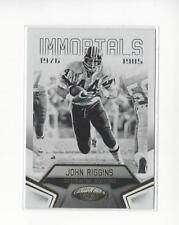 2016 Certified #127 John Riggins Redskins /999