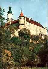Nove Mesto nad Metuji Zamek Schloss Castle Chateau Postcard color Postkarte