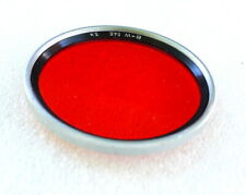 54mm B+W R2 RED Contrast Filter - Silver - PERFECT LN