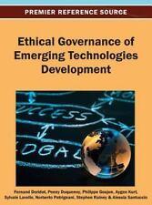 Ethical Governance of Emerging Technologies Development (2013, Hardcover)