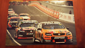 WILL DAVISON TEKNO RACING STIX  BATHURST 2016 SIGNED  PHOTO 18X12 INCH