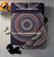 4 PC Set Urban Outfitters Éléphant Mandala Couverture Doona Housse Indien Bohème