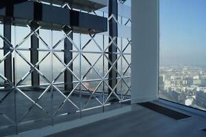 Exklusive Spiegelfliesen FACETTIERT 30x30x42,4cm  Wandfliesen 18Stück = 0,81m2