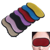 1Pc Bamboo Charcoal Sleep Eye Mask Blindfold Shade Sleep Rest Aid Cover Care CA