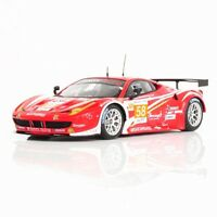 Ferrari 458 Italia Gte Am #58 Team Luxury Racing 24h Le Mans 2012 Fujimi 1:43