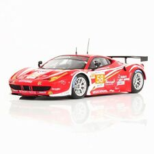 Ferrari 458 Italia Gte Am #58 Team Luxury Racing 24h Le Mans 2012 Fujimi 1:43