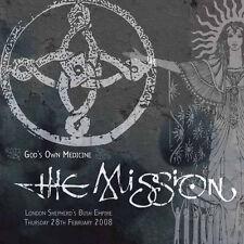 The Mission Gods Own Medicine 180g Vinyl LP Plus D'load